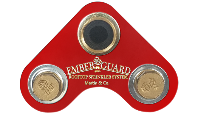 Embers-Guard fire protection tool
