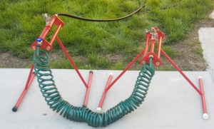 Rooftop Sprinkler - Wildfire Defense, Automatic Irrigation Equipment
